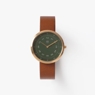 DUSTY OLIVE BROWN 34mm