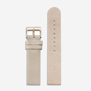 CAMEL LEATHER 20mm (ROSEGOLD)