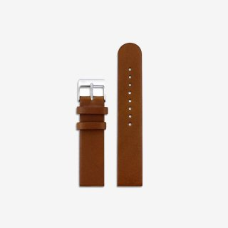 BROWN LEATHER 16mm(SILVER)