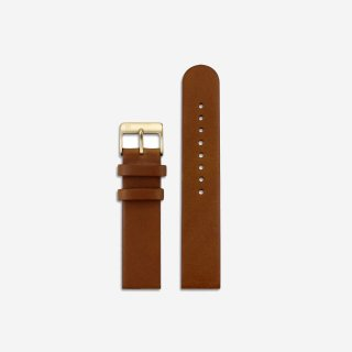 BROWN LEATHER 16mm(GOLD)