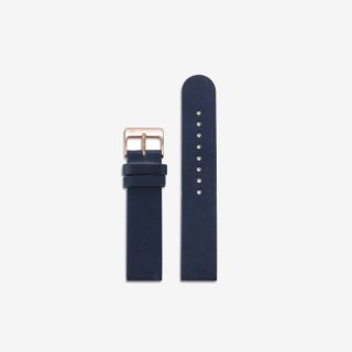 NAVY LEATHER 16mm(ROSEGOLD)