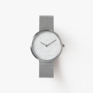OUTLINE SILVER MESH 40mm