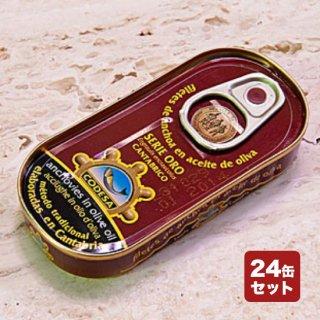 カンタブリア産アンチョビ (ゴールドシリーズ)【お得な24缶セット/業務用】