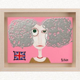 バクハツの女 Silverの髪