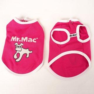 Mr.Mac / クールメッシュTシャツ ピンク