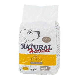 NATURAL Harvest ベーシックフォーミュラ パピー(チキン)1.59kg×8袋