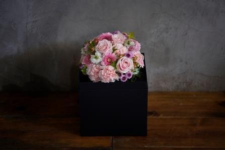WAKU2[KURO]pink flower
