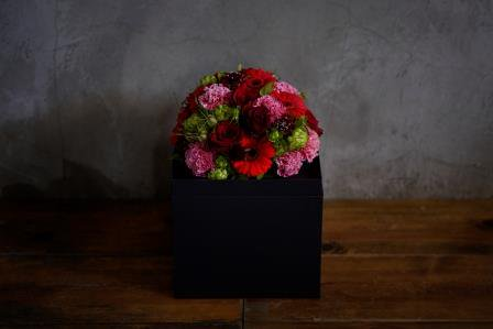 <母の日限定商品※>Container【kuro×red】 L