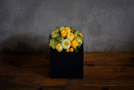 <母の日限定商品※>Container【kuro×yellow】 M