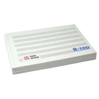 B-TAO五線紙 6段 100枚入り