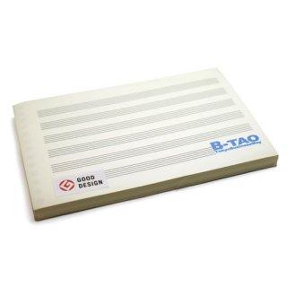 B-TAO五線紙クリーム 6段 100枚