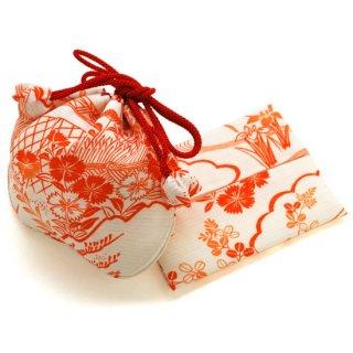 巾着・ティッシュケースセット 絽撫子