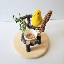 ご飯入れ付止まり木スタンド・A