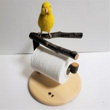 Y字止まり木のお土産お掃除ホルダー