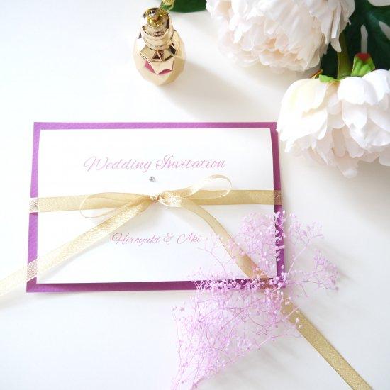 招待状 結婚式