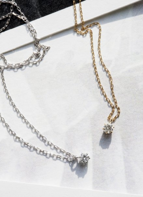 K10 (0.08ct)  ダイヤモンドネックレス