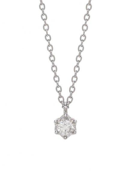 【サージカルステンレス】ダイヤモンドネックレス