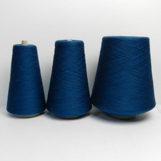 オリエンタルブルーの糸 1291g
