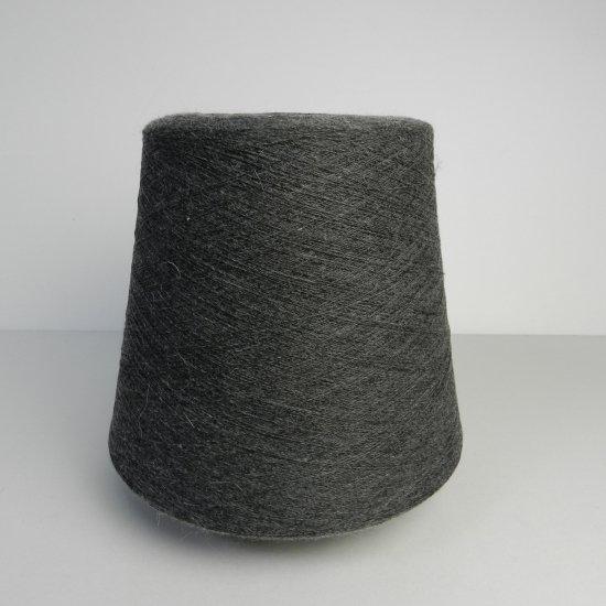 チャコールグレーの毛糸 985g/番手1/26/木野毛糸株式会社のクラッシ