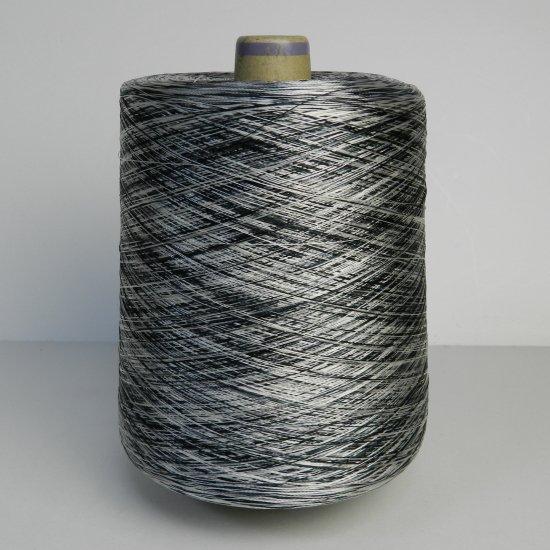 黒系の多色糸 1030g/デニール:150/三菱レイヨンのシルパロン
