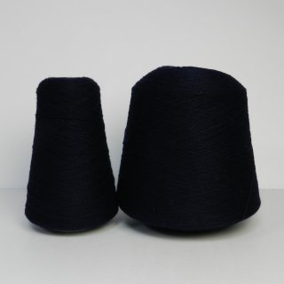 紺色の糸 1427g/番手2/20/カシミア/東洋紡糸工業のSAPNAA