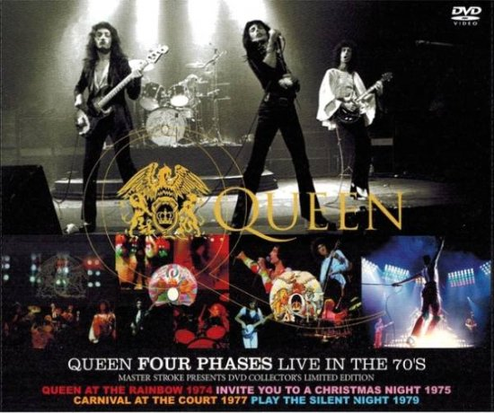QUEEN / FOUR PHASES LIVE IN THE 70'S