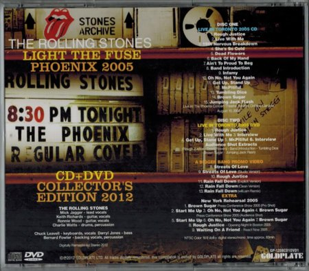 rolling stones light the fuse cd