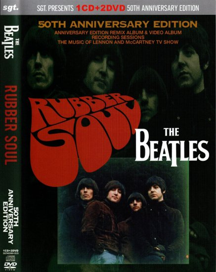 THE BEATLES / RUBBER SOUL :50th ANNIVERSARY EDITION