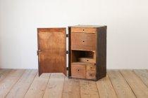 江戸時代 安政 木製 金庫 引き出し 抽斗 収納 無垢材 古道具 レトロ