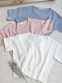 SummerニットLoose Tシャツ