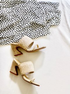 Straw Ready Sandals