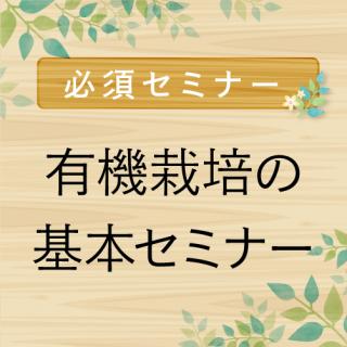 有機の基本Sセミナー【6月8日20時】