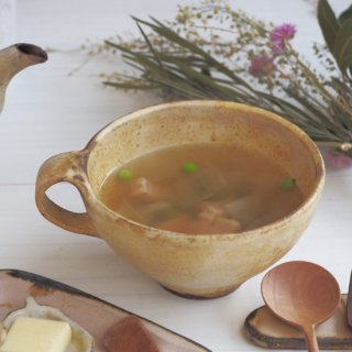 粉福ハンドルスープカップ