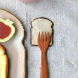 粉福カトラリーレスト-食パン-