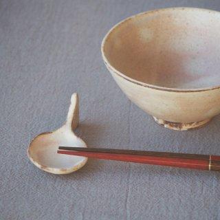 粉福スプーン箸置き-三角-