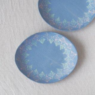 いっちん楕円皿-パープル-
