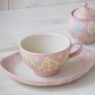 いっちんティーカップ-ピンク-