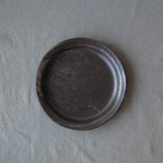キャラメリゼブラウン・丸皿