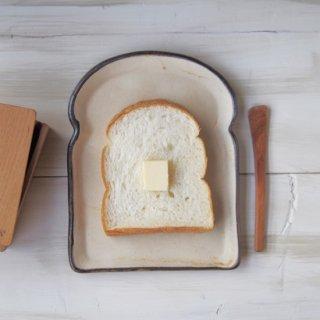 zakka・食パン皿-l-アイボリー