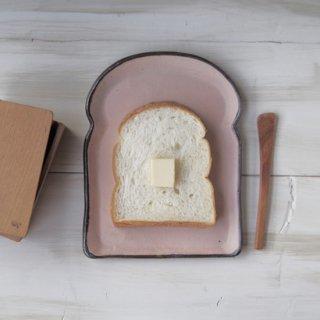 zakka・食パン皿-l-ピンク