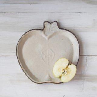 zakka・りんご皿-アイボリー