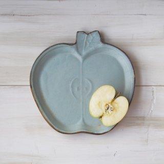 zakka・りんご皿-ブルー
