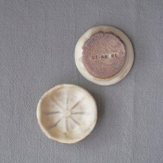 zakka・オレンジ豆小皿-アイボリー