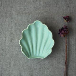 マカロンミントグリーン・貝小皿