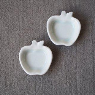 白磁りんご豆小皿