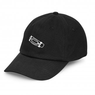 <img class='new_mark_img1' src='//img.shop-pro.jp/img/new/icons14.gif' style='border:none;display:inline;margin:0px;padding:0px;width:auto;' />ペニーPENNY 6PANELS DAD HAT BLACK 6パネル ダッドハット ブラック