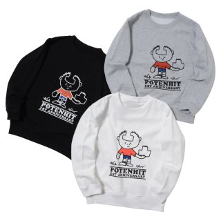 <img class='new_mark_img1' src='https://img.shop-pro.jp/img/new/icons50.gif' style='border:none;display:inline;margin:0px;padding:0px;width:auto;' />1ST ANNIVERSARY CHARACTER CREWNECK SWEAT(for KIDS)