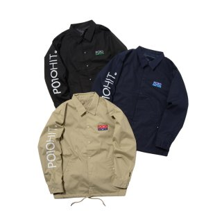 <img class='new_mark_img1' src='//img.shop-pro.jp/img/new/icons50.gif' style='border:none;display:inline;margin:0px;padding:0px;width:auto;' />PO10 BICOLOR LOGO COACH JACKET