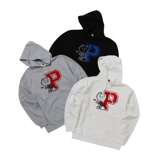 <img class='new_mark_img1' src='//img.shop-pro.jp/img/new/icons50.gif' style='border:none;display:inline;margin:0px;padding:0px;width:auto;' />CHARACTER INITIAL P SWEAT HOODIE