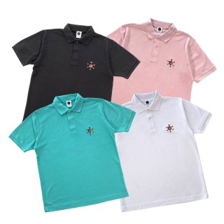 <img class='new_mark_img1' src='//img.shop-pro.jp/img/new/icons50.gif' style='border:none;display:inline;margin:0px;padding:0px;width:auto;' />HEXAGRAM LOGO POLO S/S SHIRT